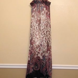 Romeo + Juliet Cotoure paisley maxi dress